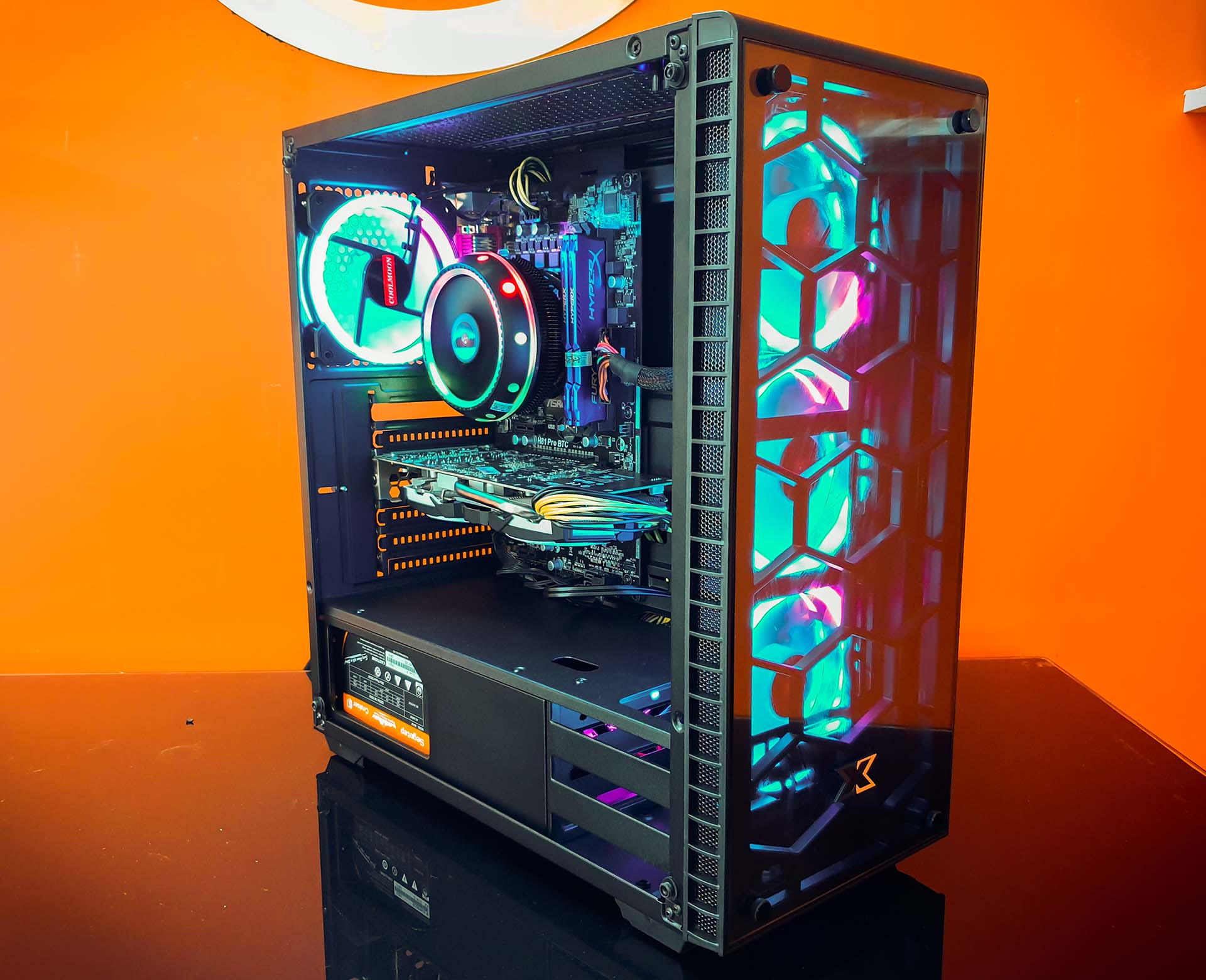 Pc Gaming Bulno Z490 I7 10700 Rtx 2060 Venom