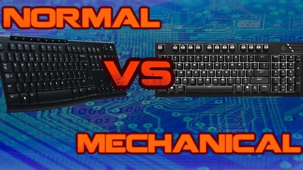 bàn phím cơ và bàn phím thường