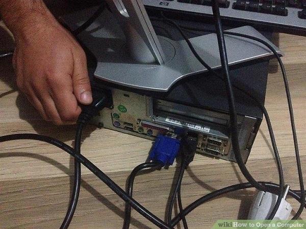 tháo lắp màn hình máy tính để bàn