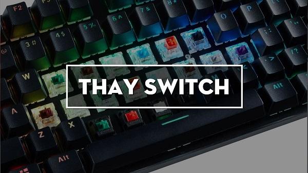 hướng dẫn thay switch bàn phím cơ