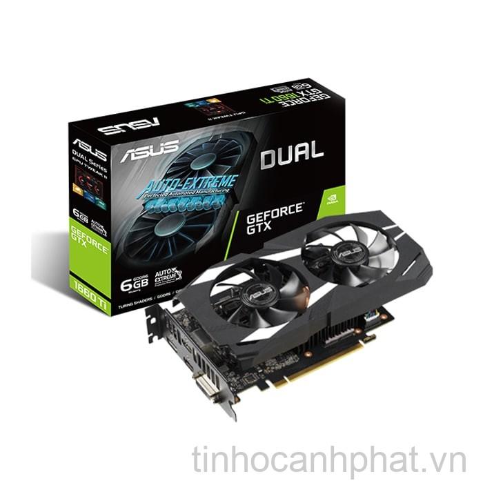 VGA Asus Dual GeForce GTX 1660 Ti 6GB GDDR6