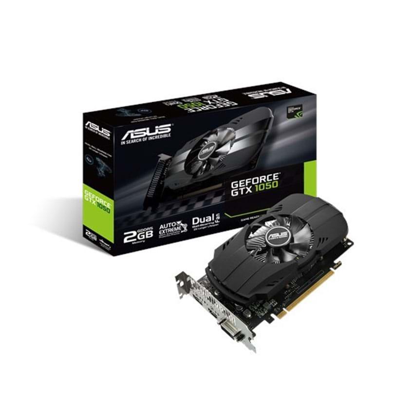 Card màn hình | VGA Asus GeForce GTX 1050 2GB GDDR5 Phoenix (PH-GTX1050-2G)