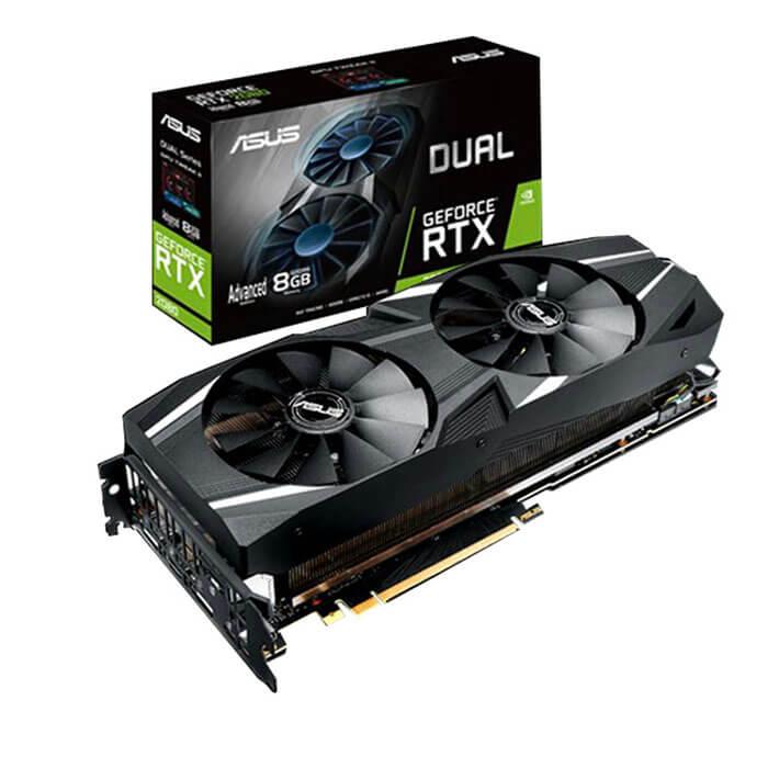 VGA Asus GeForce RTX 2080 8GB GDDR6 DUAL
