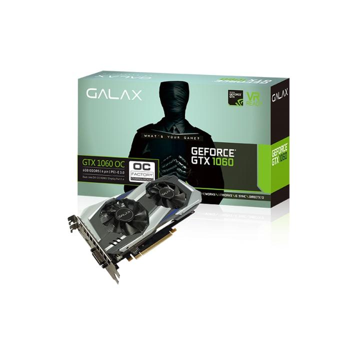 VGA GALAX GTX 1060 OC 6G DDR5