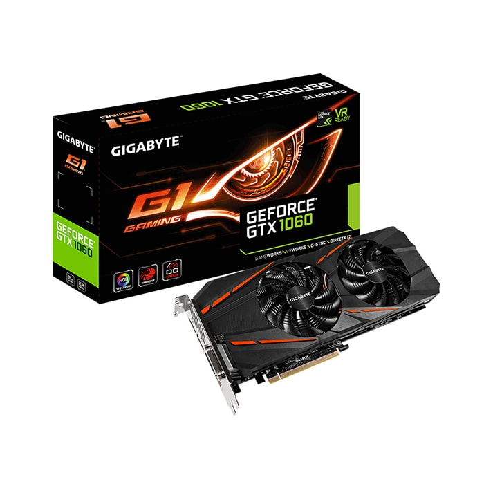 VGA Gigabyte GeForce GTX 1060 3GB GDDR5 G1 Gaming