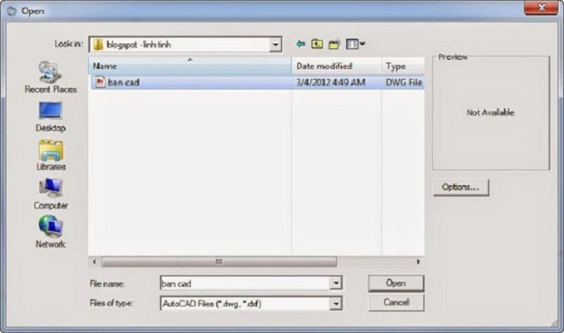 import file cad vào sketchup đúng tỉ lệ