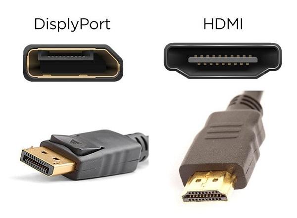 hdmi và displayport