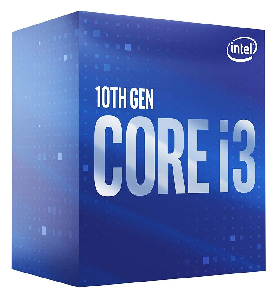 CPU Intel Core i3 10100F (3.6GHz turbo up to 4.3Ghz, 4 nhân 8 luồng, 6MB Cache, 65W) SocKet Intel LGA 1200 (Con)