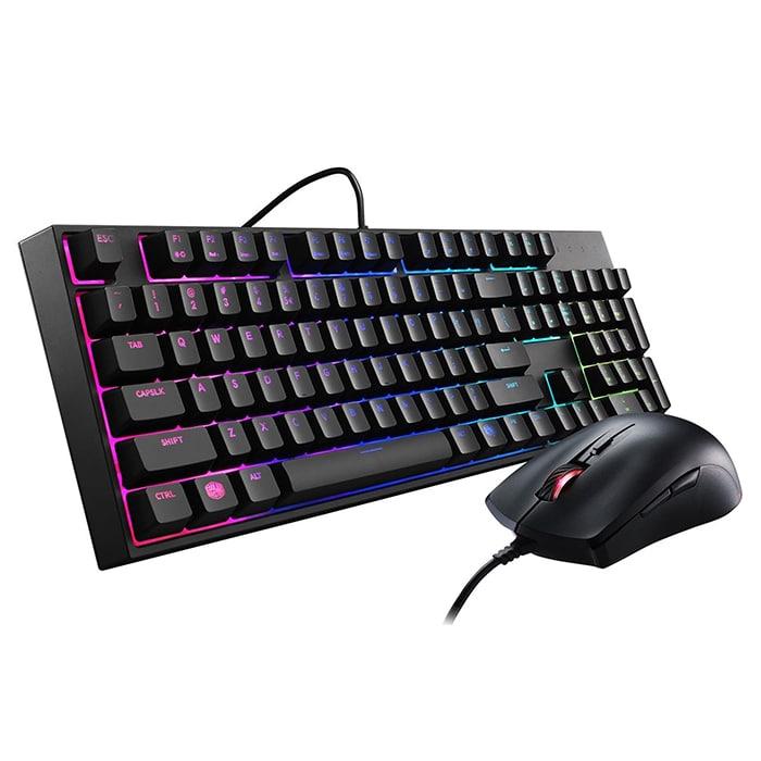 Combo bàn phím chuột Cooler Master Masterkeys Lite L RGB