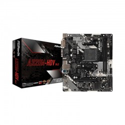 MainBoard A320M-HDV ASROCK R4.0 (AMD A320M, Socket AM4,,m-ATX, 2 khe RAM DDR4) (Yes)