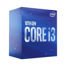 CPU Intel Core i3 10100 (3.6GHz turbo up to 4.3Ghz, 4 nhân 8 luồng, 6MB Cache, 65W) SocKet Intel LGA 1200 (Con)