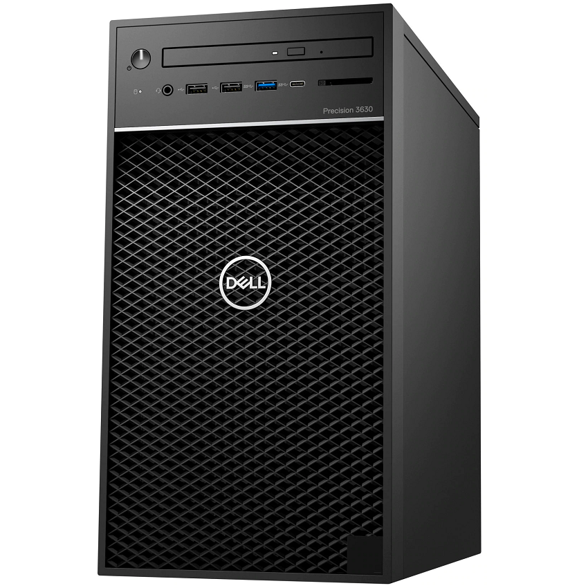 Workstation Dell Precision T3630 (I5-8600/8Gb (2*4Gb) Ram/1Tb Hdd/Vga P620 2Gb/Dvdrw/Key/Mouse) (42Pt3630D01)