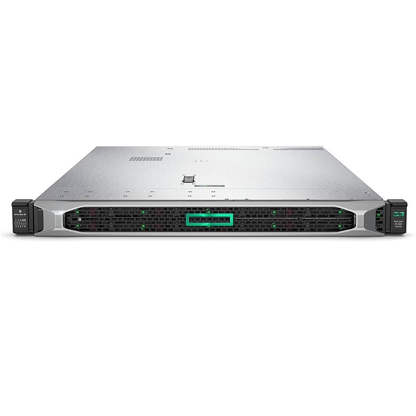 Server Hpe Proliant Dl360 Gen10 (Xeon Silver 4208/16Gb Ram/P408I-A/8Sff/500W) (867959-B21-4208 Xeon S-16Gb)